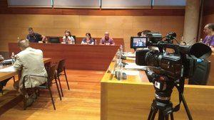 Pleno municipal de Gavà celebrado el 28 de junio.