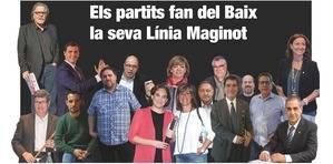 Els partits fan del Baix la seva L�nia Maginot
