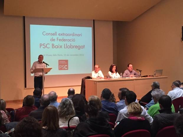 El PSC del Baix Llobregat inicia el procés de primàries amb Poveda com a únic favorit