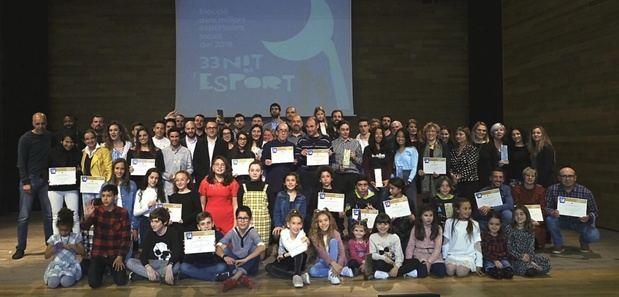 El Prat celebra la 33ª 'Nit de l'Esport'