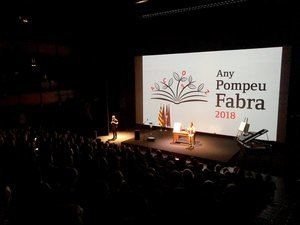 VII Premios Pompeu Fabra en los que ha recibido una mención de reconocimiento especial el Ateneu Santfeliuenc.