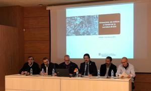 Presentación de las obras de mejora de los diferentes enlaces entre el Baix Llobregat y la Anoia.