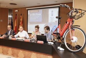 Presentación del nuevo servicio de bicicleta pública compartida metropolitana.