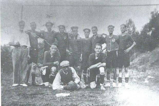 Un dels primers equips de la UE la Palma.