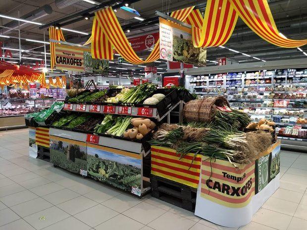 El Alcampo de Finestrelles venderá productos de proximidad de la Cooperativa Agrícola de El Prat