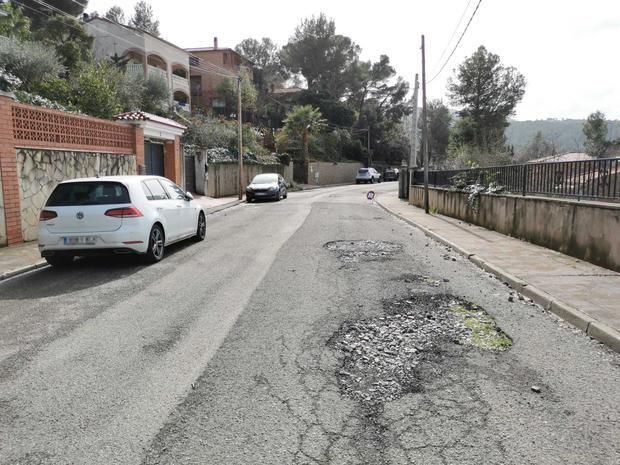Castellví de Rosanes reconstruirá la calle del Castell de Sant Jaume en el barrio del Taió