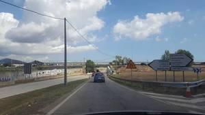 Fomento retira los primeros 'New Jersey' del ramal de acceso a Sant Boi desde Viladecans