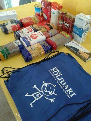 Sant Andreu de la Barca recoge 4 toneladas de alimentos en una jornada solidaria