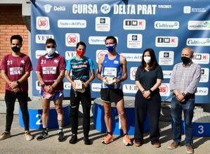 La vigesimoprimera edición de la Cursa Delta Prat atrae a 800 corredores