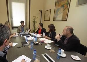 Viladecans, Gav�, Castelldefels, Begues i Sant Climent supervisaran el full de ruta de les obres de l�Hospital de Viladecans