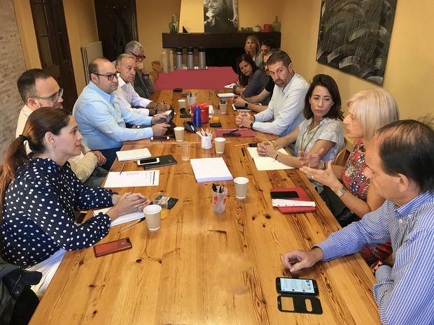 Reunión de los alcaldes y alcaldesas socialistas del Baix Llobregat.