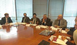 Reunión entre Generalitat y Renfe celebrada este jueves 15 de noviembre.