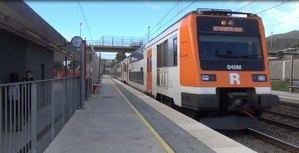 Estación de rodalies Platja de Castelldefels.