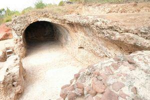 Estado actual del conjunto arqueológico.