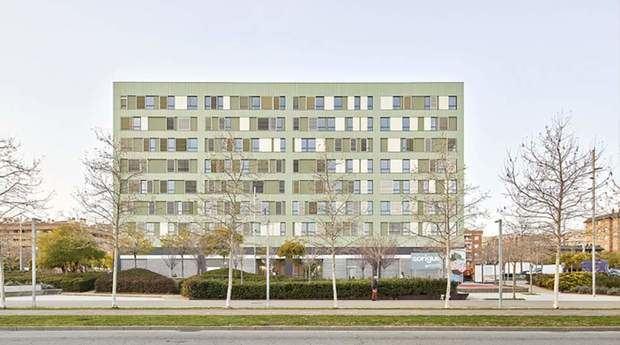 Las viviendas públicas del Saló Central de Sant Boi ganan el premio FAD de Arquitectura