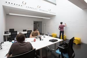 Una de las salas polivalentes del nuevo Viladecans Innovació Empresarial