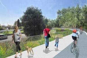 El Baix es connectarà a Barcelona amb un carril bici d'aquí a un any