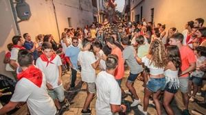 Fiestas de Sant Pollín durante la anterior edición en 2017.