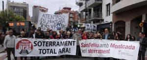 La inversió en infraestructures inclou, també, el soterrament de les vies de Sant Feliu de Llobregat