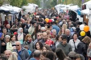 Èxit de participació a les Festes de Primavera de Sant Feliu tot i el mal temps
