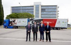 Hasta diciembre de 2015 solo se permitía en España la circulación de camiones de menos de 19 metros y con una capacidad de 40 toneladas | Imagen cedida por Seat