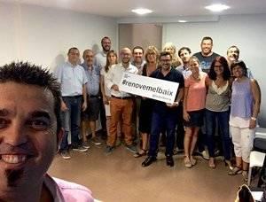 L'alcalde de Sant Climent, Isidre Sierra, presenta la candidatura per presidir el PDC al Baix Llobregat