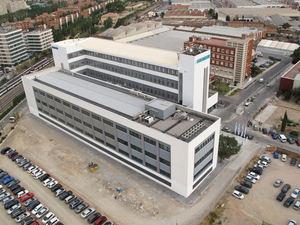 Fábrica Siemens en Cornellà.