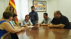 La secretaria municipal de Sant Vicenç dels Horts no ha firmado el decreto de Alcaldía a favor de la celebración del referéndum