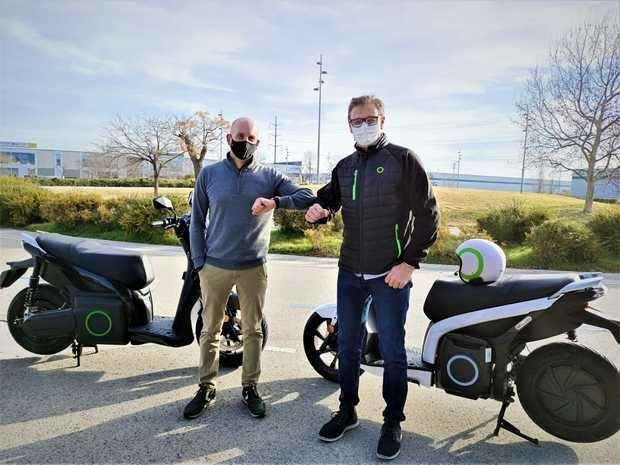 El líder de las motos eléctricas Silence, nuevo patrocinador del Club Ciclista Sant Boi