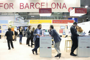 Smart City Expo World Congress en el recinto de la Fira de Barcelona en L'Hospitalet.