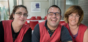 La Fundació Portolà integra a 160 personas con discapacidad intelectual