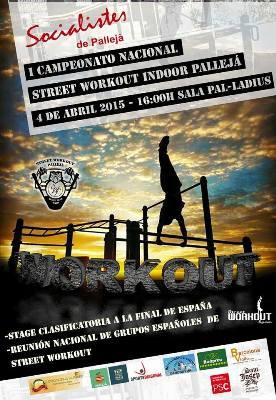Pallejà celebra el I Campionat Nacional de Street Workout Indoor