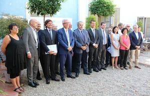 Castelldefels signa el manifest de suport als Jocs Mediterranis de Tarragona 2017 com a seu de rem i piragüisme