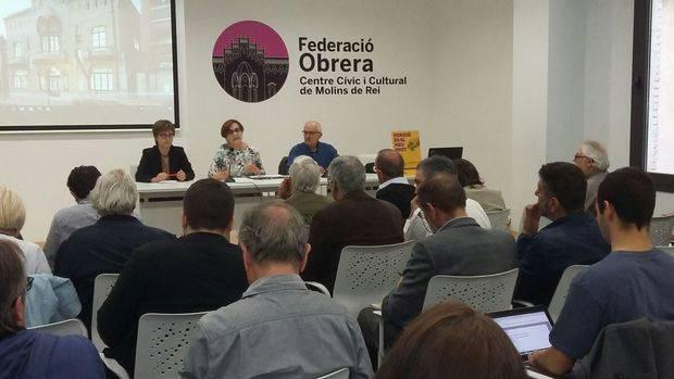 El Baix Llobregat presenta la seva Taula pel Pacte Nacional pel Referèndum