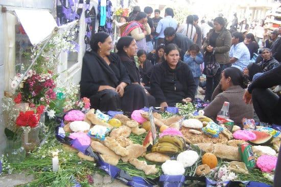 'Cacharpaya', el Todos los Santos boliviano