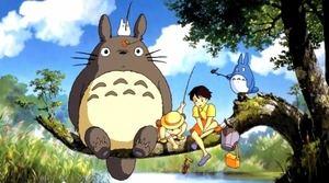 Imagen de la película Totoro, uno de los largometrajes que se proyectarán en la Sección de Animación Japonesa