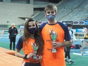 L'Hospitalet Atletisme sube dos veces al pódium por equipos de los campeonatos de Cataluña sub20