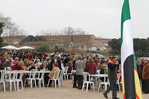 Celebración con migas de la Unión Extremeña de Sant Boi.