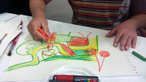 L'artista Diego Mallo i pacients de Benito Menni CASM seran els autors del cartell de la fira de la Puríssima de Sant Boi