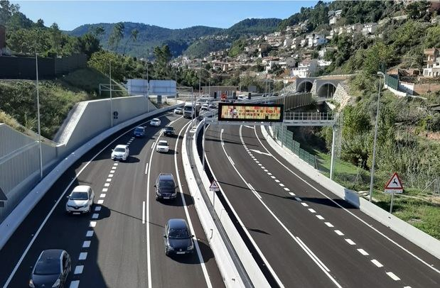 La variante de Vallirana (B-24) elegida mejor infraestructura catalana del 2019