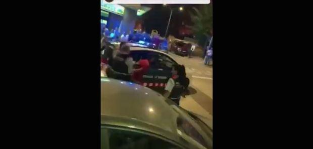 Momento de la detención del individuo.