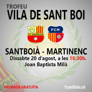 Un robatori de coure al Joan Baptista Milà obliga a modificar l'horari del trofeu Vila de Sant Boi