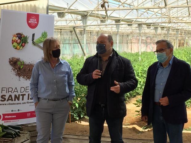Viladecans presenta una edición especial de la Feria de Sant Isidre y la Mostra d'Entitats más virtual