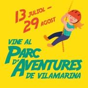 Un parque de aventuras temporal llega al C.C. Vilamariana