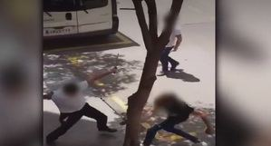 Un robo originó la pelea a navajazos en L'Hospitalet que se ha hecho viral
