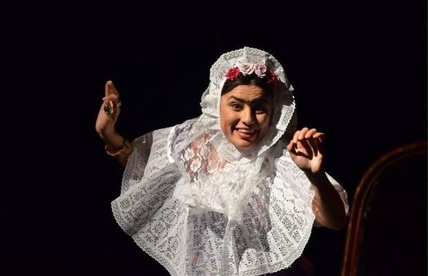 La compañía gavanense 'Teatr3s' lleva su Frida Kahlo a Viladecans
