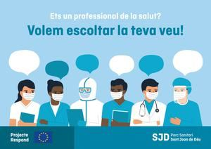 El PSSJD de Sant Boi busca voluntarios para evaluar el impacto emocional del covid -19