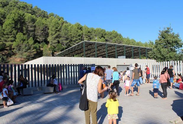 Inicio del curso en la escuela Mare de Déu de Montserrat de Castellví de Rosanes